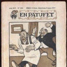 Tebeos: GIROEXLIBRIS. CÓMIC DE PATUFET. AÑO XIV Nº 686 DE BARCELONA 3 DE MARZO DE 1917. Lote 192134677