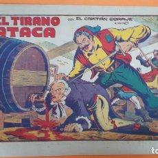 Tebeos: EL CAPITAN CORAJE Nº 32 EL TIRANO ATACA IBERIA ORIGINAL CT2. Lote 192185707