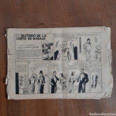 Tebeos: DIAMANTE NEGRO / EL MISTERIO DE LA CARTA DE BARAJA / RIALTO 1944 / NUM. 57 / DIFÍCIL DE ENCONTRAR. Lote 192380705