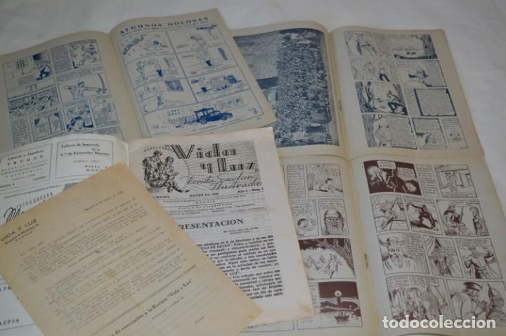 Tebeos: VIDA y LUZ / Revista Escolar Ilustrada / Época TERCERA - Números 01, 33, 34 y 35 - Años 45/48 ¡Mira! - Foto 7 - 192869835