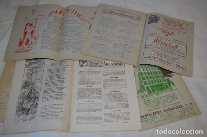 Tebeos: VIDA y LUZ / Revista Escolar Ilustrada / Época TERCERA - Números 01, 33, 34 y 35 - Años 45/48 ¡Mira! - Foto 5 - 192869835