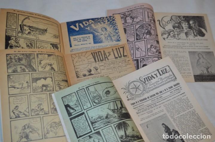 Tebeos: VIDA y LUZ / Revista Escolar Ilustrada / Época TERCERA - Números 94, 95, 96 y 97 - Año 1.954 ¡Mira! - Foto 4 - 192879583