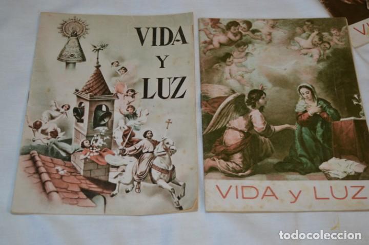 Tebeos: VIDA y LUZ / Revista Escolar Ilustrada / Época TERCERA - Números 90, 91, 93 y 94 - Años 53/54 ¡Mira! - Foto 3 - 192880625