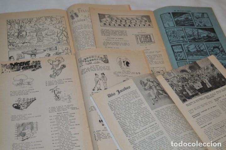 Tebeos: VIDA y LUZ / Revista Escolar Ilustrada / Época TERCERA - Números 90, 91, 93 y 94 - Años 53/54 ¡Mira! - Foto 5 - 192880625
