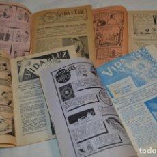 Tebeos: VIDA Y LUZ / REVISTA ESCOLAR ILUSTRADA / ÉPOCA TERCERA - NÚMEROS 84, 85, 86 Y 89 - AÑO 1.953 ¡MIRA!. Lote 192881893