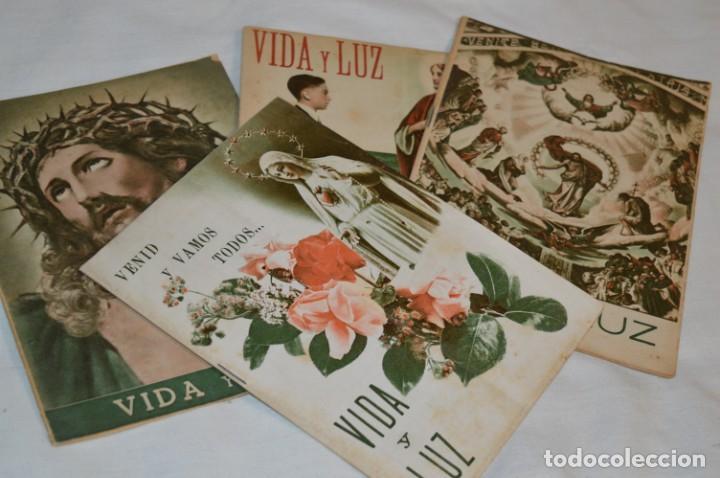Tebeos: VIDA y LUZ / Revista Escolar Ilustrada / Época TERCERA - Números 84, 85, 86 y 89 - Año 1.953 ¡Mira! - Foto 2 - 192881893