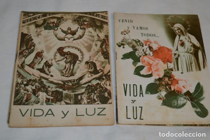 Tebeos: VIDA y LUZ / Revista Escolar Ilustrada / Época TERCERA - Números 84, 85, 86 y 89 - Año 1.953 ¡Mira! - Foto 4 - 192881893