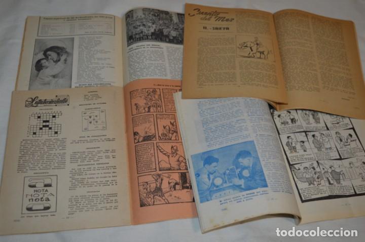 Tebeos: VIDA y LUZ / Revista Escolar Ilustrada / Época TERCERA - Números 84, 85, 86 y 89 - Año 1.953 ¡Mira! - Foto 5 - 192881893
