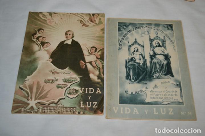 Tebeos: VIDA y LUZ / Revista Escolar Ilustrada / Época TERCERA - Números 56, 68, 81 y 82 - Años 50 ¡Mira! - Foto 2 - 193054378