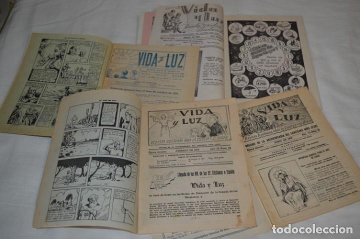 Tebeos: VIDA y LUZ / Revista Escolar Ilustrada / Época TERCERA - Números 56, 68, 81 y 82 - Años 50 ¡Mira! - Foto 4 - 193054378