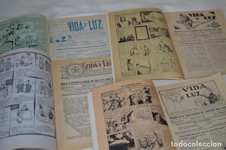 Tebeos: VIDA y LUZ / Revista Escolar Ilustrada / Época TERCERA - Números 68, 73, 75 y 86 - Años 50 ¡Mira! - Foto 4 - 193058200