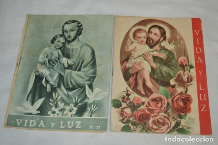 Tebeos: VIDA y LUZ / Revista Escolar Ilustrada / Época TERCERA - Números 73, 81, 82 y 83 - Años 50 ¡Mira! - Foto 3 - 193061510