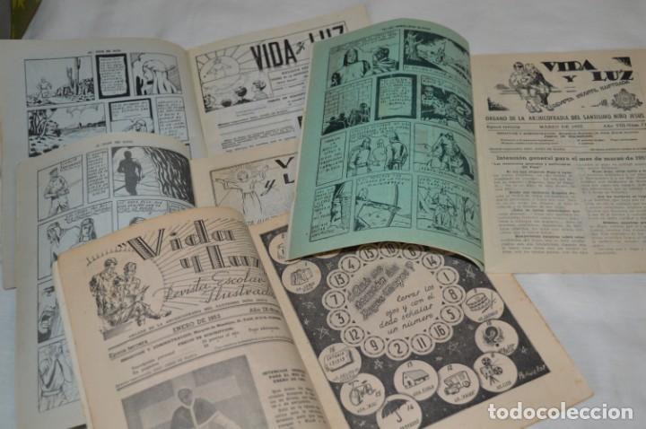 Tebeos: VIDA y LUZ / Revista Escolar Ilustrada / Época TERCERA - Números 73, 81, 82 y 83 - Años 50 ¡Mira! - Foto 5 - 193061510
