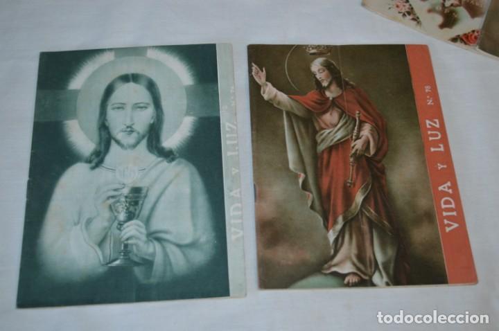 Tebeos: VIDA y LUZ / Revista Escolar Ilustrada / Época TERCERA - Números 76, 78, 79 y 80 - Años 50 ¡Mira! - Foto 2 - 193063620