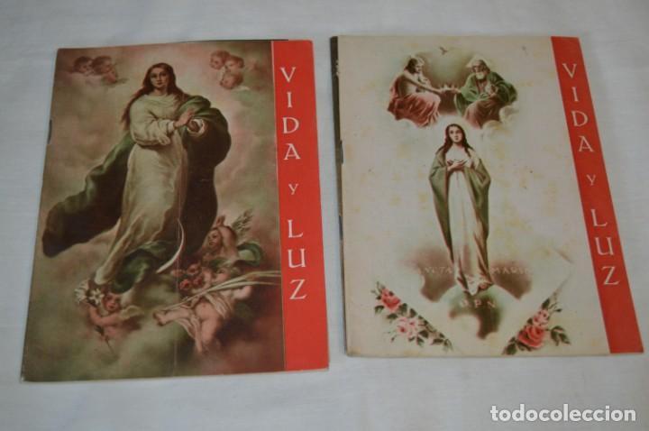 Tebeos: VIDA y LUZ / Revista Escolar Ilustrada / Época TERCERA - Números 76, 78, 79 y 80 - Años 50 ¡Mira! - Foto 3 - 193063620
