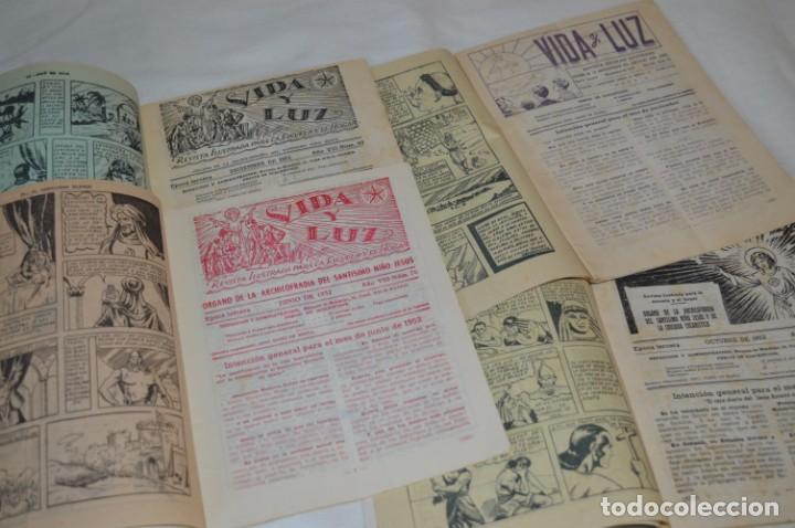 Tebeos: VIDA y LUZ / Revista Escolar Ilustrada / Época TERCERA - Números 76, 78, 79 y 80 - Años 50 ¡Mira! - Foto 4 - 193063620