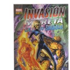 Livros de Banda Desenhada: INVASION SECRETA LOS CUATROS FANTASTICOS. Lote 193078865