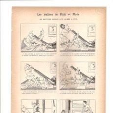 Tebeos: 1107. LES MALICES DE PLICK ET PLOCK. Lote 193256816