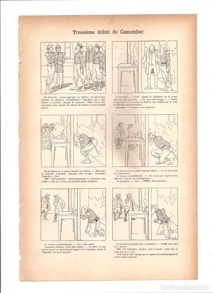 1108. TROISIEME DEBUT DE CAMEMBER (Tebeos y Comics - Tebeos Clásicos (Hasta 1.939))