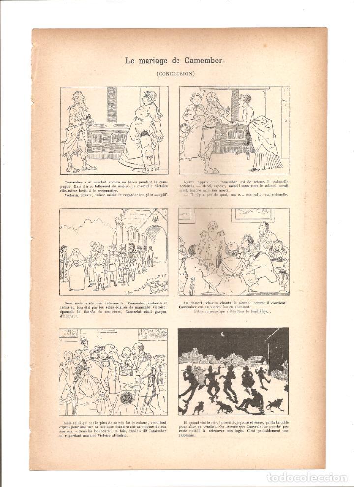 1110. LE MARIAGE DE CAMEMBER (Tebeos y Comics - Tebeos Clásicos (Hasta 1.939))