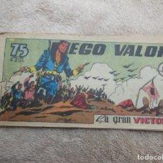 Tebeos: COMIC DIEGO VALOR Nº 63 , ORIGINAL ( VER FOTO ADICIONAL ).. Lote 194194207
