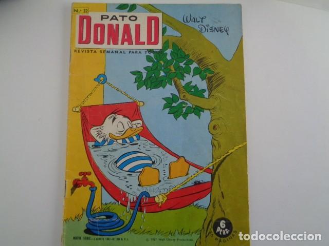 PATO DONALD. WALT DISNEY. NUEVA SERIE 3 AGOSTO 1967. Nº 32. 34 PAGS. (Tebeos y Comics - Tebeos Otras Editoriales Clásicas)