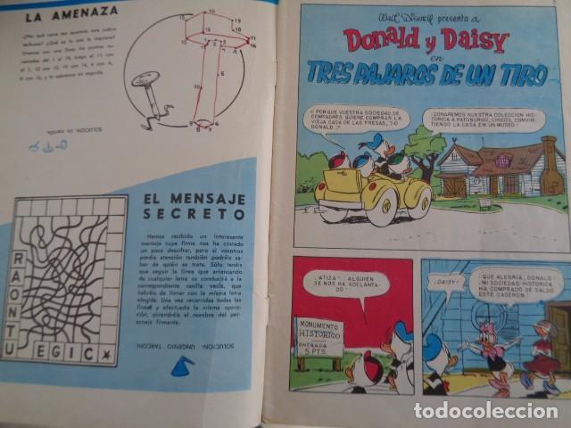 Tebeos: PATO DONALD. WALT DISNEY. NUEVA SERIE 3 AGOSTO 1967. Nº 32. 34 PAGS. - Foto 2 - 194194558