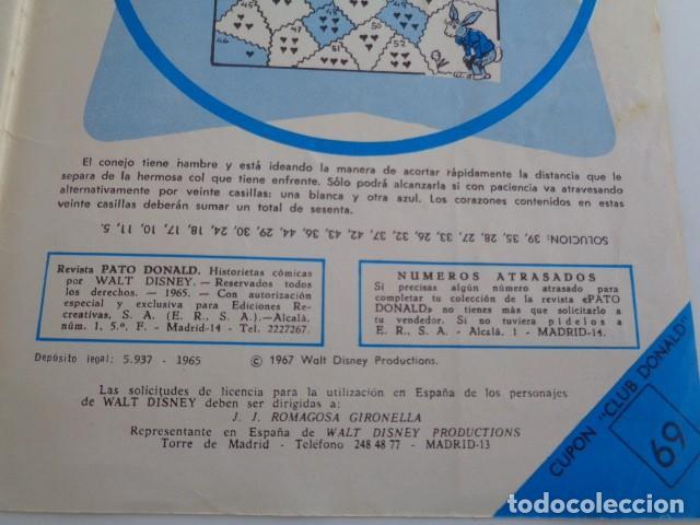 Tebeos: PATO DONALD. WALT DISNEY. NUEVA SERIE 3 AGOSTO 1967. Nº 32. 34 PAGS. - Foto 4 - 194194558