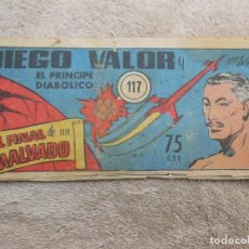 Tebeos: COMIC DIEGO VALOR Nº 117 , ORIGINAL ( VER FOTO ADICIONAL ).. Lote 194194781