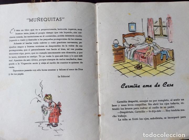 Tebeos: CARMIÑA AMA DE CASA. Publicación infantil de los años 40 - Foto 3 - 194199130