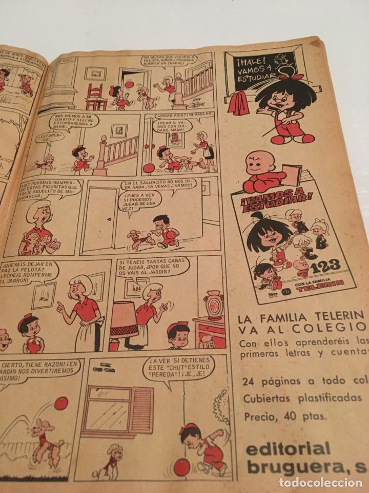 Tebeos: REVISTA TBO DIN DAN N 28 AÑO I 1966 - Foto 2 - 194225373
