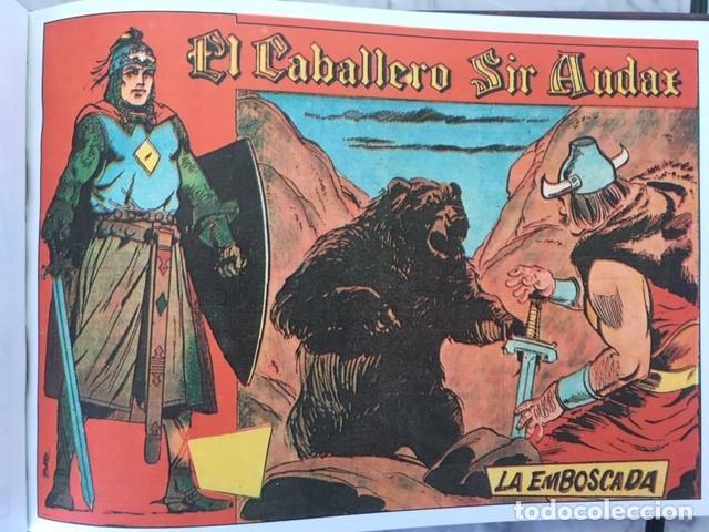 Tebeos: EL CABALLERO SIR AUDAX -Fascimil, completa, encuadernada - Ed. Andaluza - Foto 2 - 194225408