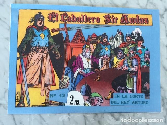 Tebeos: EL CABALLERO SIR AUDAX -Fascimil, completa, encuadernada - Ed. Andaluza - Foto 8 - 194225408