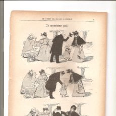 Tebeos: 1135. UN MONSIEUR POLI. DIBUJANTE COTTIN (1897/1898). Lote 194238686