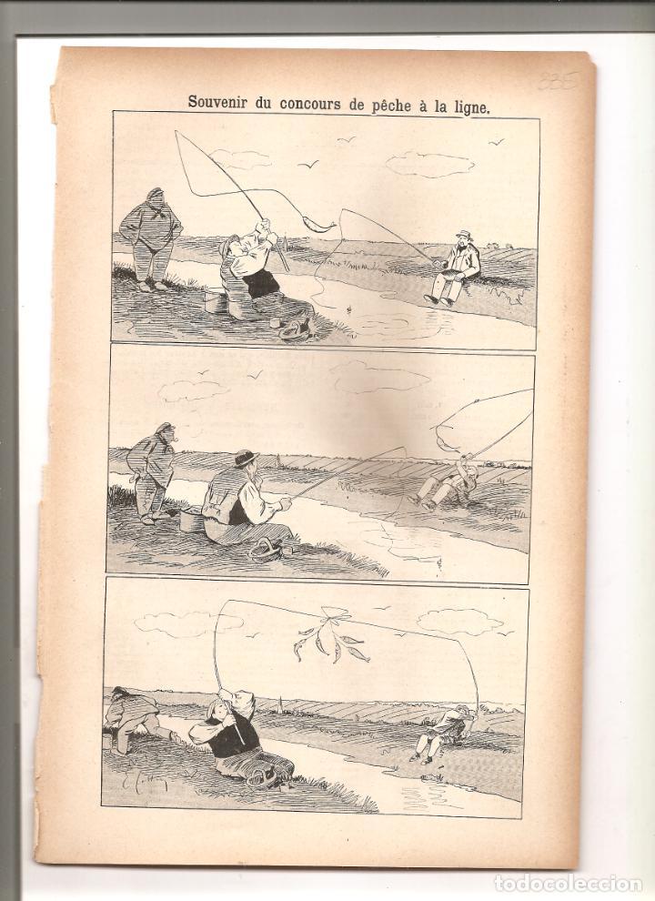 1137. SOUVENIR DU CONCOURS DE PECHE A LA LIGNE (1897/1898) (Tebeos y Comics - Tebeos Clásicos (Hasta 1.939))