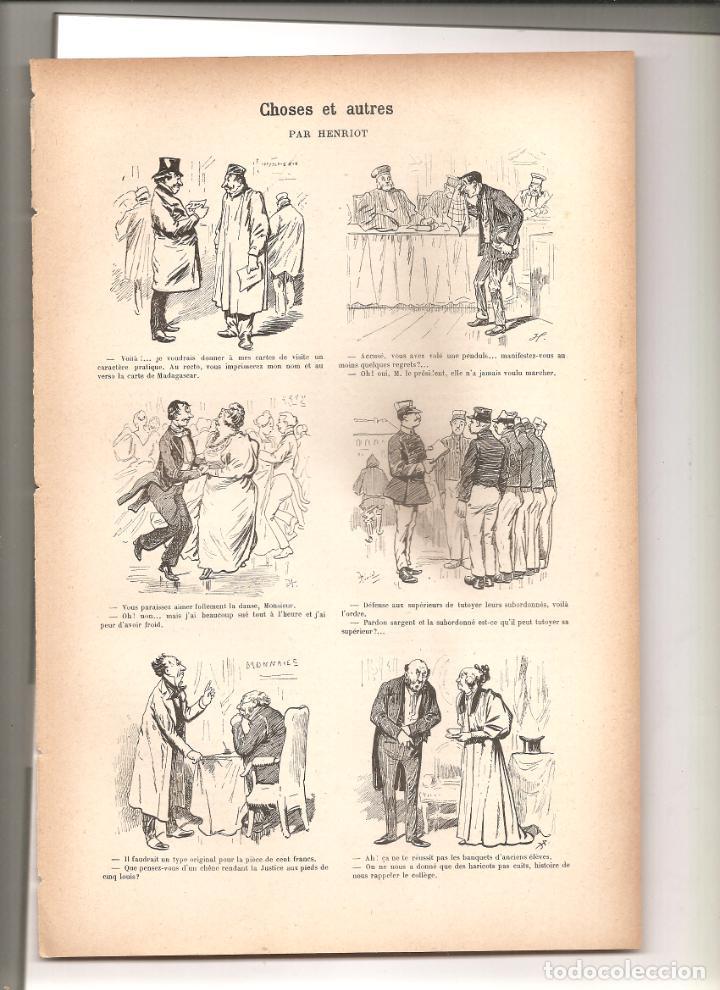 1141. CHOSES ET AUTRES. DIBUJANTE HENRIOT (1897/1898) (Tebeos y Comics - Tebeos Clásicos (Hasta 1.939))