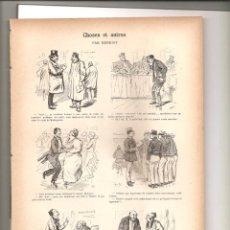Tebeos: 1141. CHOSES ET AUTRES. DIBUJANTE HENRIOT (1897/1898). Lote 194239908