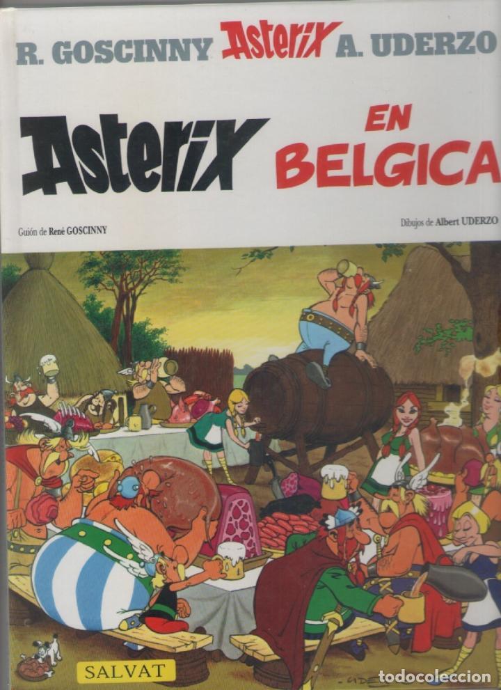 ASTERIX EN BÉLGICA-SALVAT-AÑO 2000-COLOR-Nº 24-TAPA DURA (Tebeos y Comics - Tebeos Otras Editoriales Clásicas)