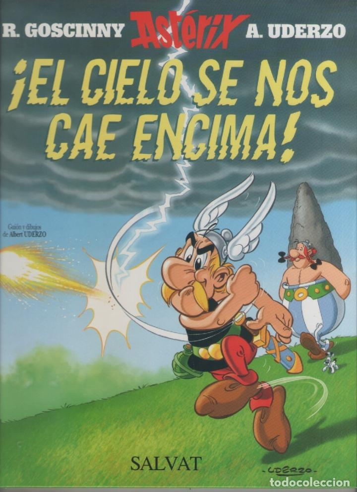 ASTERIX EL CIELO SE NOS CAE ENCIMA- SALVAT-AÑO 2005-COLOR-Nº 33-TAPA DURA (Tebeos y Comics - Tebeos Otras Editoriales Clásicas)