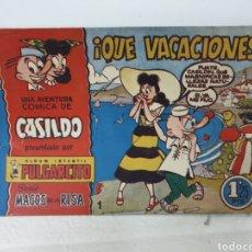 Tebeos: PULGARCITO N°1 SERIE MAGOS DE LA RISA ,CASILDO. Lote 194503638