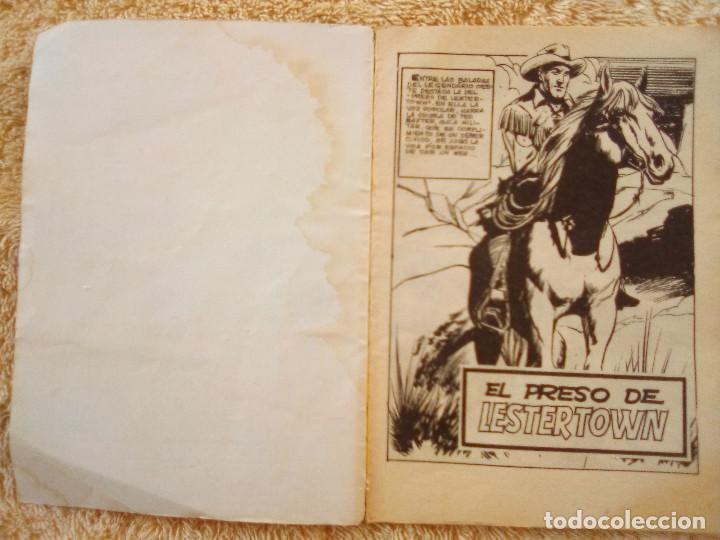 Tebeos: GRAN OESTE- Nº 241 -EL PRESO DE LESTER TOWN-1976-GRAN A. REDONDO-DIFÍCIL-ÚNICO EN TC-BUENO-LEAN-3107 - Foto 4 - 194514433