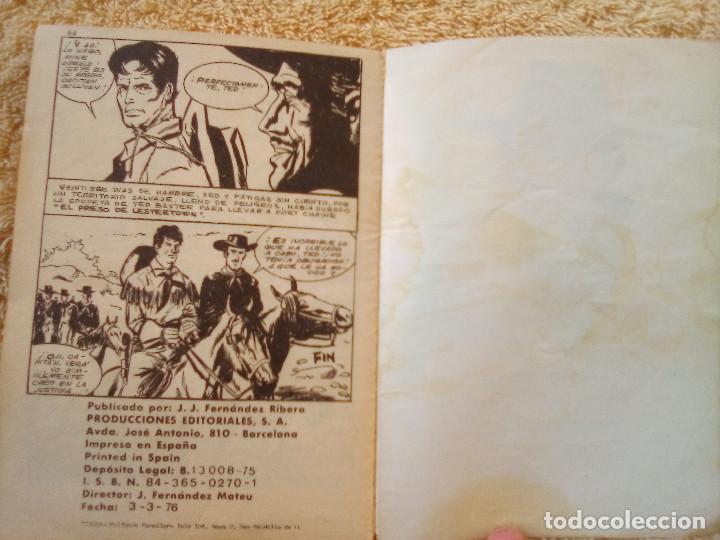Tebeos: GRAN OESTE- Nº 241 -EL PRESO DE LESTER TOWN-1976-GRAN A. REDONDO-DIFÍCIL-ÚNICO EN TC-BUENO-LEAN-3107 - Foto 6 - 194514433