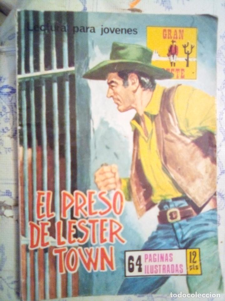 GRAN OESTE- Nº 241 -EL PRESO DE LESTER TOWN-1976-GRAN A. REDONDO-DIFÍCIL-ÚNICO EN TC-BUENO-LEAN-3107 (Tebeos y Comics - Tebeos Otras Editoriales Clásicas)