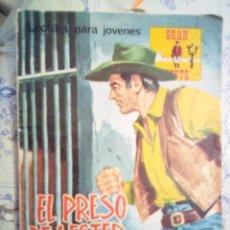 Tebeos: GRAN OESTE- Nº 241 -EL PRESO DE LESTER TOWN-1976-GRAN A. REDONDO-DIFÍCIL-ÚNICO EN TC-BUENO-LEAN-3107. Lote 194514433