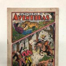 Tebeos: ALMANAQUE DE AVENTURAS DE 1934 ORIGINAL. Lote 194520198