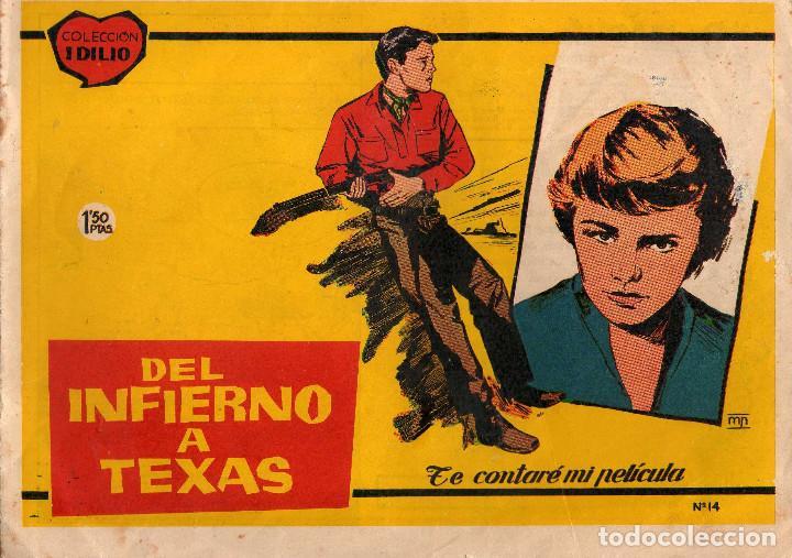COLECCION IDILIO Nº 14, BISTAGNE 1961 (Tebeos y Comics - Tebeos Otras Editoriales Clásicas)