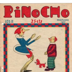 Tebeos: SEMANARIO INFANTIL PINOCHO. Nº 139. 16 OCTUBRE 1927. SATURNINO CALLEJA. Lote 194590981