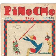 Tebeos: SEMANARIO INFANTIL PINOCHO. Nº 144. 20 NOVIEMBRE 1927. SATURNINO CALLEJA. Lote 194591107
