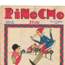 Tebeos: SEMANARIO INFANTIL PINOCHO. Nº 140. 23 OCTUBRE 1927. SATURNINO CALLEJA. Lote 194591210