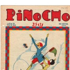 Tebeos: SEMANARIO INFANTIL PINOCHO. Nº 166. 22 ABRIL 1928. Lote 194591356